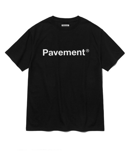 [페이브먼트] STANDARD SHORT SLEEVE IS [BLACK]