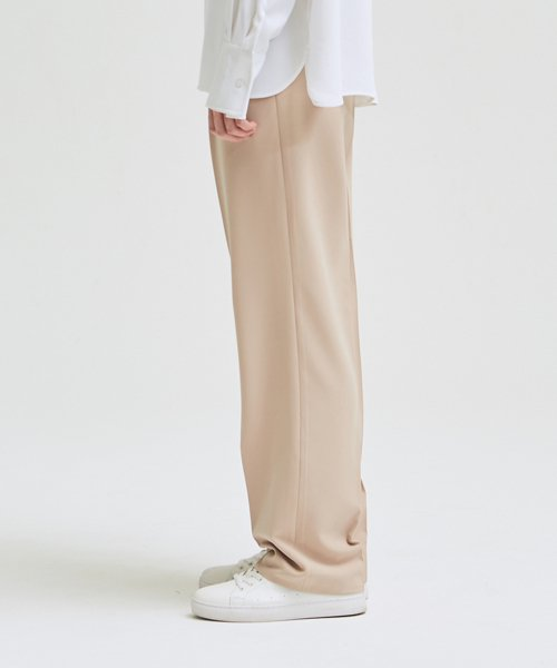 [에드]SUPER WIDE SLACKS_SS PINK BEIGE