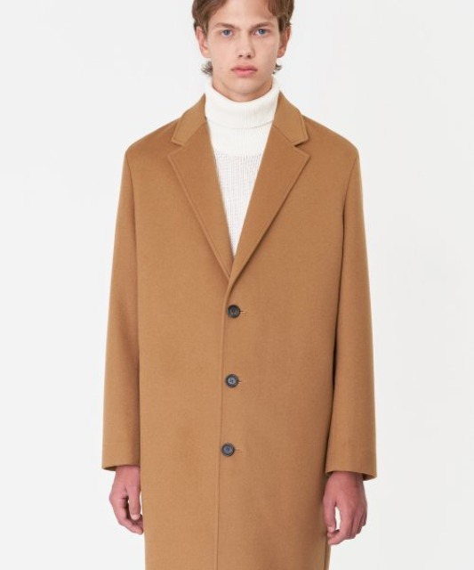 [비바스튜디오]  CASHMERE CHESTERFIELD COAT IA [BEIGE]