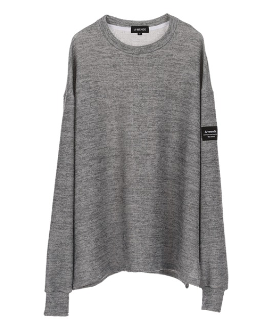 [어웬드] AWENDE Long sleeve (롱 슬리브) / GREY