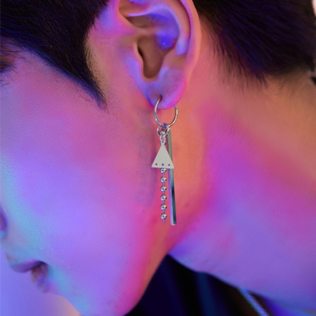[하와] Trio ring earring