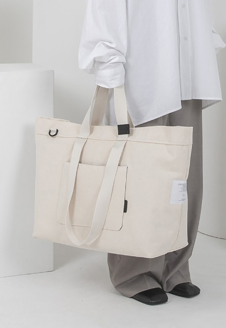 [오디너티] INSIDE-OUT IVORY, (Tote x shoulder x cross)