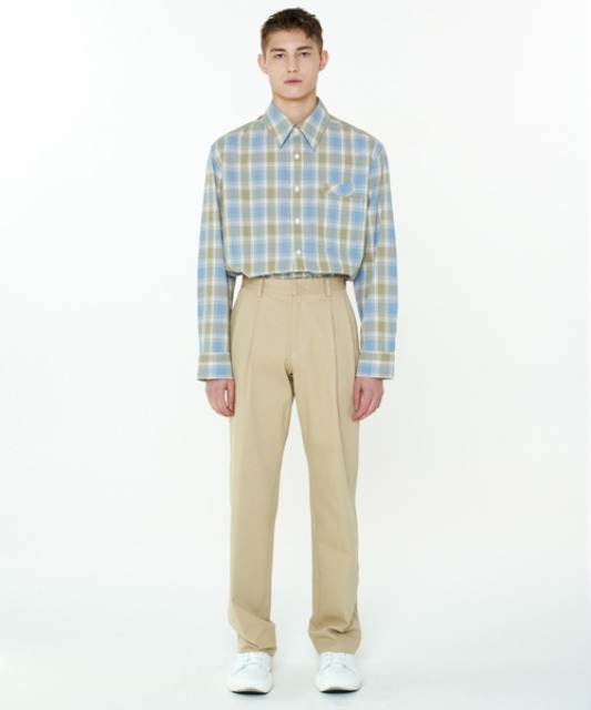 [에스티유] Two tuck pants beige