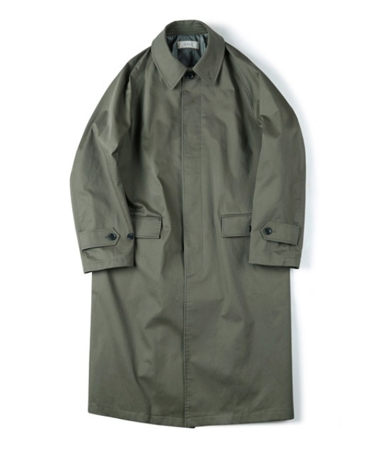 [셔터] WATERPROOF COATING BALMACAAN COAT olive