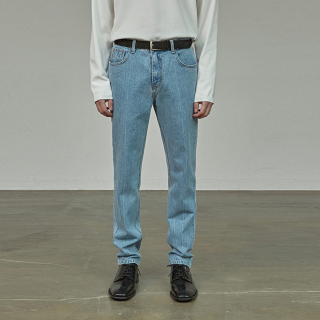 [에이글로우] NON SPAN DENIM PANTS