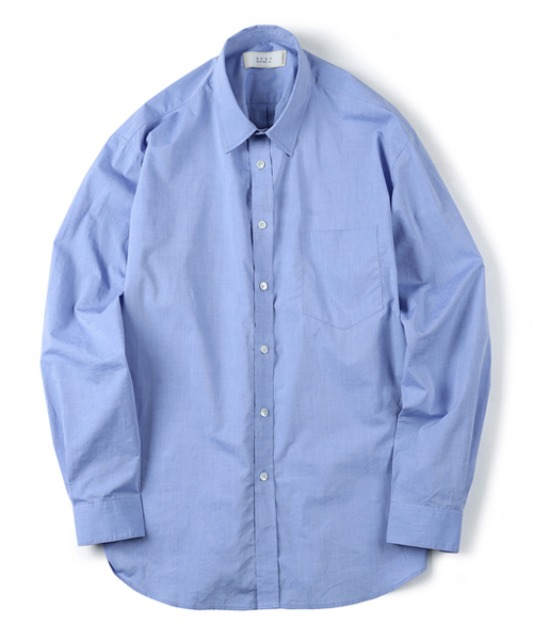 [셔터] HIGH DENSITY STANDARD SHIRT blue