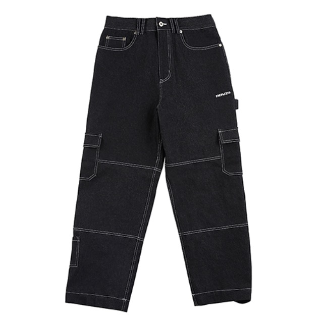 [알디브이제트] STITCH POINT DENIM PANTS