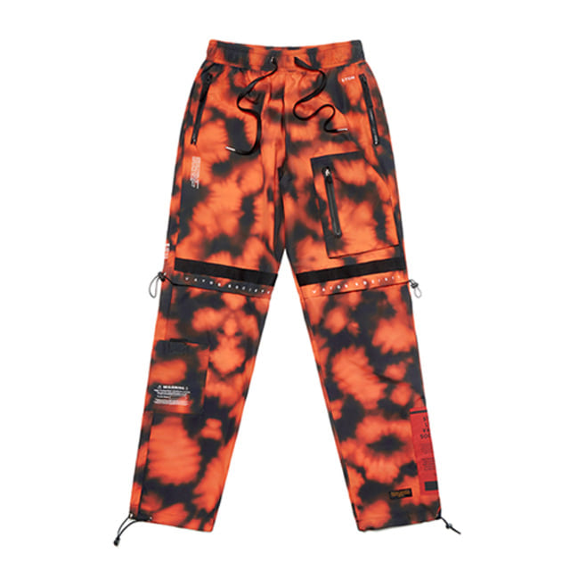 [스티그마]STIGMA S TECH JOGGER PANTS ORANGE PATTERN