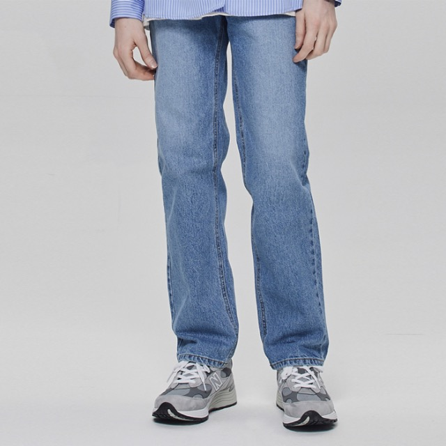 [데드엔드] STONE BLUE REGULAR STRAIGHT JEANS