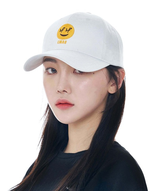 [루오에스팩] Smile cap (white)