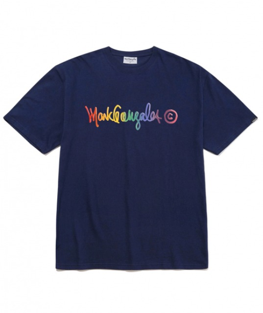 [마크곤잘레스] M/G SPECTRUM T-SHIRTS NAVY