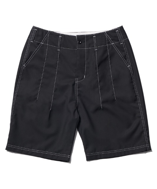 [노매뉴얼] S.L SHORT PANTS - BLACK