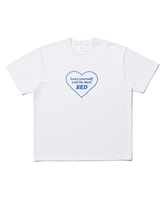 [노매뉴얼] LOVE YOURSELF T-SHIRT - WHITE