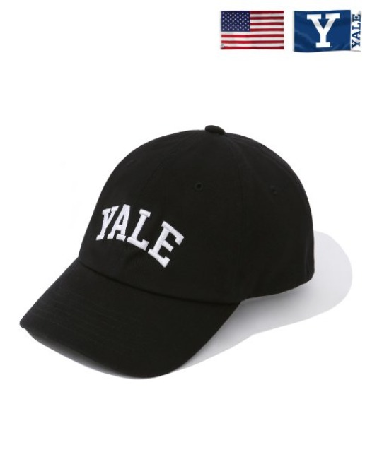 [예일] ARCH YALE BALL CAP BLACK