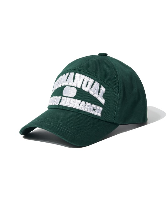 [노매뉴얼] ARCH LOGO BALL CAP - GREEN
