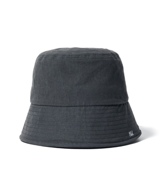 [노매뉴얼]NM LOGO BUCKET HAT - CHARCOAL