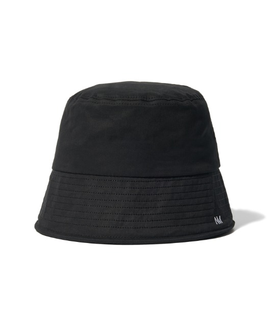 [노매뉴얼] NM LOGO BUCKET HAT - BLACK
