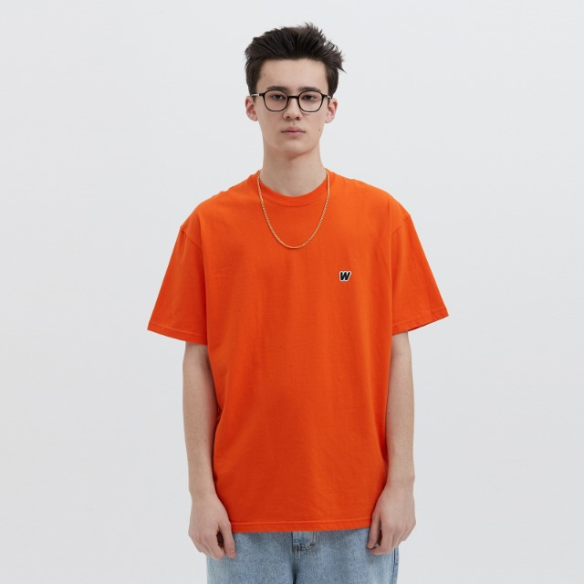 [위캔더스] W LOGO SS T-SHIRT (ORANGE)