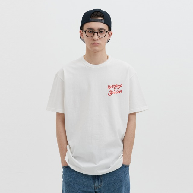 [위캔더스] HOTDOG SS T-SHIRT (RED)