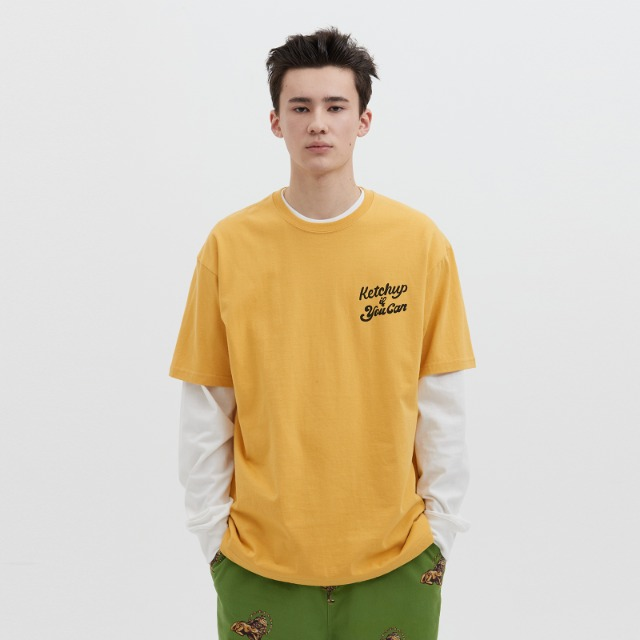 [위캔더스] HOTDOG SS T-SHIRT (YELLOW)
