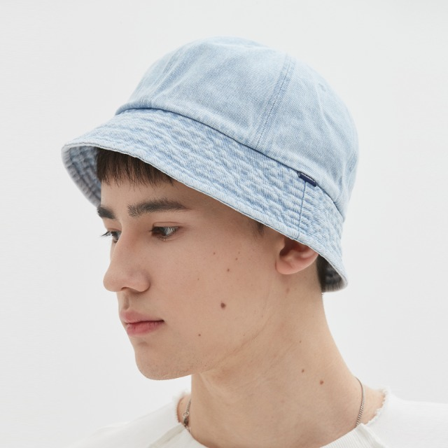 [위캔더스] DENIM BUCKET HAT (L.DENIM)