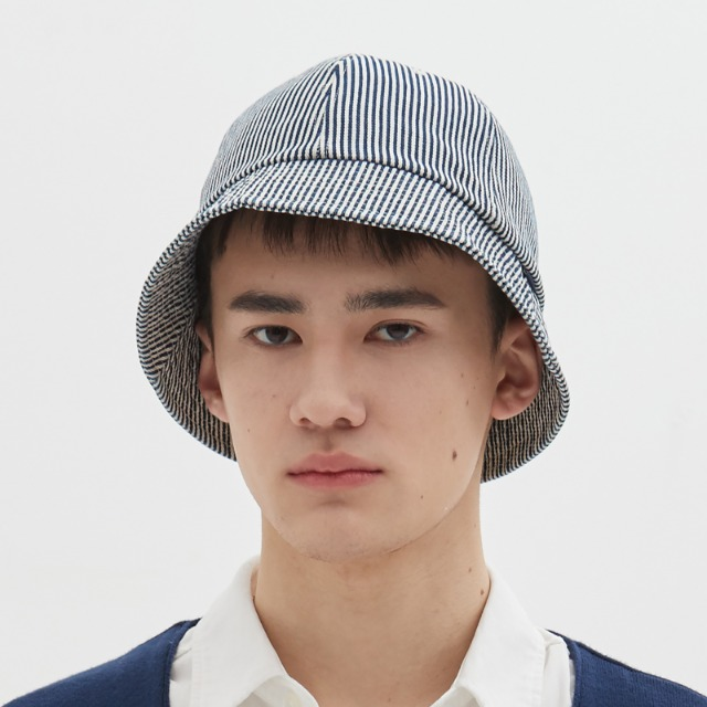 [위캔더스] DENIM BUCKET HAT (NAVY)