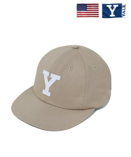 [예일] BIG Y BALL CAP BEIGE