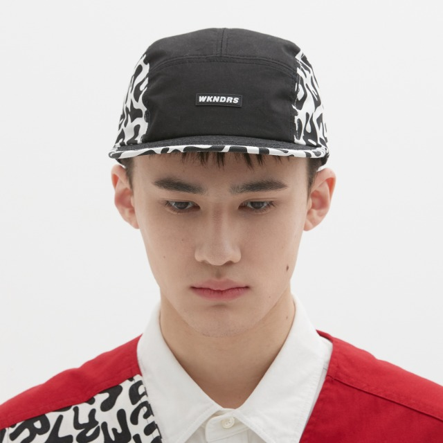 [위캔더스] DRILL CAMP CAP (BLACK)