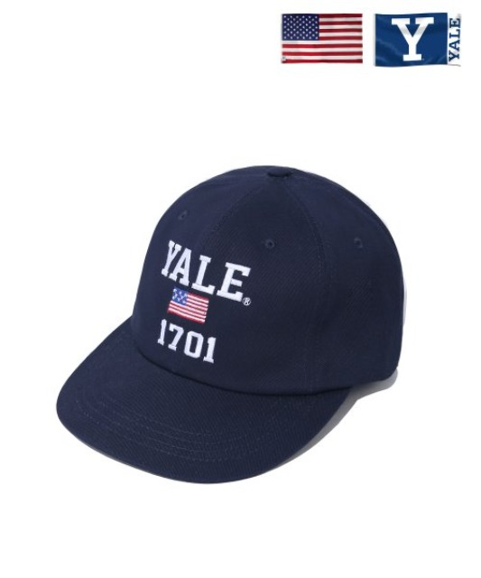 [예일] 1701 USA BALL CAP NAVY